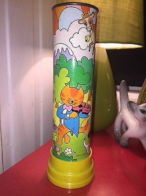 VINTAGE HI HEY DIDDLE DIDDLE CAT KALEIDOSCOPE NURSERY RHYME 1970s CHAD VALLEY