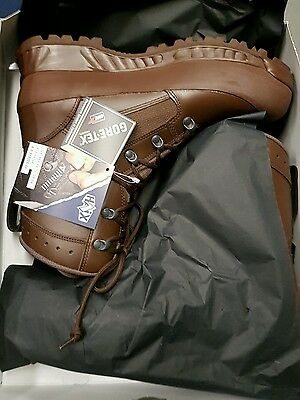 British Army Issue Haix Boots Size 10W