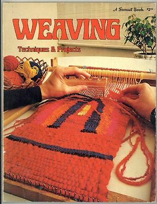Craft Book - Weaving Techniques And Projects