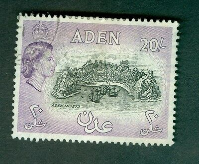 Aden Sg72 One Pound Used