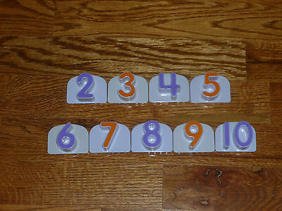 Leap Frog Magnetic Numbers #2-#10