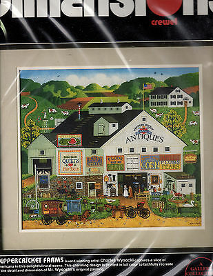 ** Crewel Embroidery Kit Dimensions Peppercricket Farms #1320 Charles Wysocki