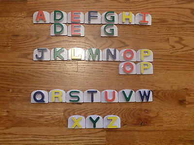 Leap Frog Fridge Phonics Word Whammer Magnetic Letters Incomplete