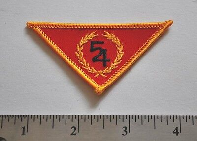 54, Boy Scouts, Badge Patch