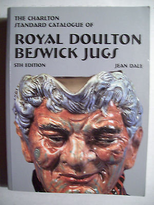 ROYAL DOULTON PRICE GUIDE COLLECTORS BOOK Toby Character Jugs Beswick
