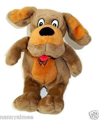 "11.5"" Wiggles Wags the Dog Brown Barking Singing Talking Plush Toy"