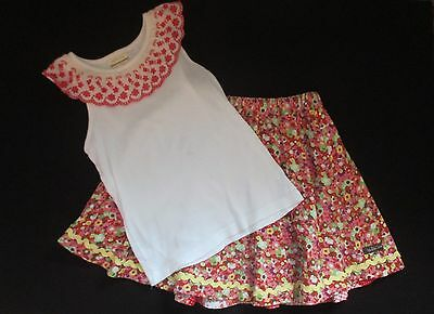MATILDA JANE Pretty Pastures Reversible Skirt Size 8 Morning Glory Tank Size 10