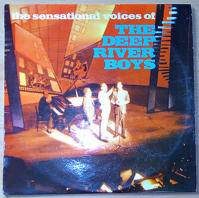 LP Vinyl * the sensational voices of THE DEEP RIVER BOYS * LBP 3003 * Rarität