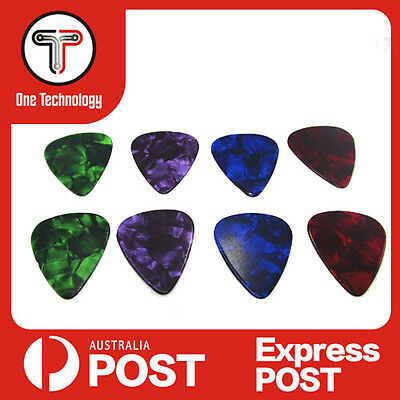 10Pcs Picks Multicolor Heart Celluloid Acoustic Electric Guitar Plectrum