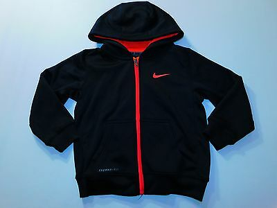 Nike Girls Hoodie SIze 5 Pink Outwerwear Therma Fit Full Zip Youth Kids Active