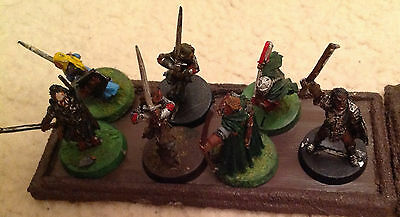 Lord of the Rings miniatures (plastic and metal, including characters)