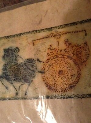 Antique Chinese Art--Handcrafted Art Rubbings From Stone--Signed By Artist-3 Wag