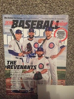 JASON HEYWARD Auto Autographed Signed Sports Illustrated Chicago Cubs