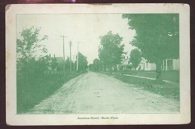Beebe Plain Street View Junction Quebec Canada Postcard