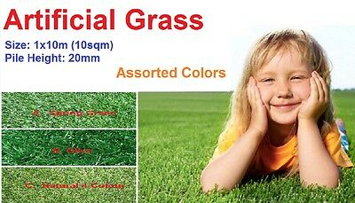 10sqm/pk 20mm pile landscape synthetic lawn/turf artificial grass olive summer
