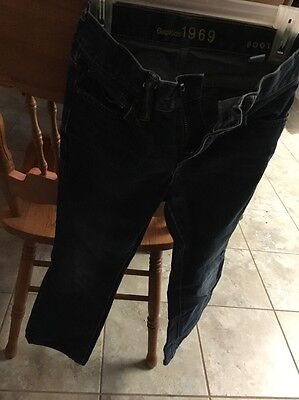 Boys Gap  Boot Jeans Size 8 Slim