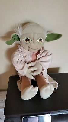 """Yoda 19"""" Stuffed Toy.  Official Star Wars Item!  Take a look!!!!!"""
