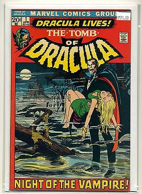 Tomb of Dracula #1 (1972, Marvel) 7.0 FN/VF NICE PAGES / FLAT COPY Key Bronze #1