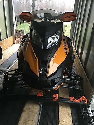 Package Deal! Ski-Doo Snowmobiles and Enclosed Trailer! (2) 2014 X Package Sleds