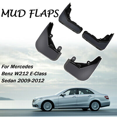 Mudflaps For Benz E Class W212 2009-2013 Mud Flap Splash Guards Front Rear