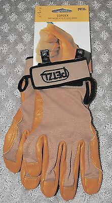 NWT Petzl Cordex Light Weight Belay & Rappel Gloves Size Small