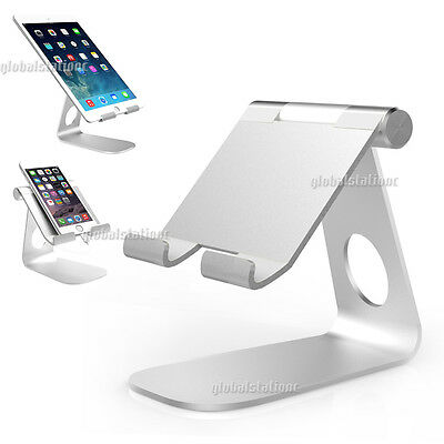 Phone Desk Stand Holders Mount Universal Aluminum For iPhone Samsung LG Huawei