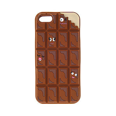 Claire's Girls and Womens Chocolate Chunks Phone Case - Iphone 5/5S in Brown