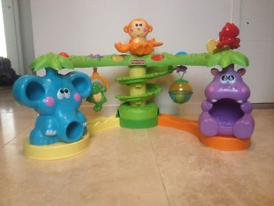Fisher-Price Go Baby Go Crawl and Cruise Musical Jungle RRP$119+