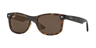NEW Genuine RAY-BAN Junior Wayfarer Havana Brown Kids Sunglasses RJ 9052S 152/73