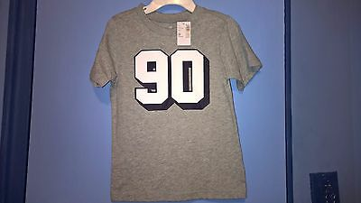 """The children's Place """"90"""" Short Sleeve T Tee Shirt Toddler Boys 3T Gray NWT"""