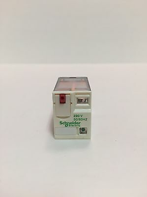 Schneider Electric 4PDT Flange Mount Non-Latching Relay, 230V ac Coil, 6 A, NEW