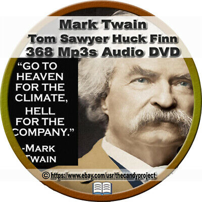 MarK Twain Ultimate Audiobook Collection Mississippi River Vintage 909 Mp3 DVD