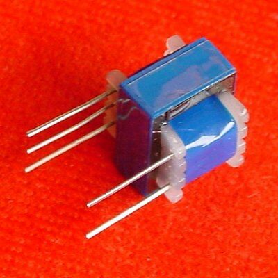 !! 4pcs EI-16 Multi-Impedance Audio Transformer 120K:600 ohm 30K:600 ohm e