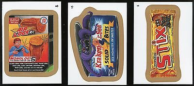 2015 Topps Wacky Packages Series 1 GOLD Parallel #5 - Rich in Fiber Stix
