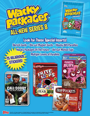 2011 Topps Wacky Packages Series 8 Master Set 148 Cards