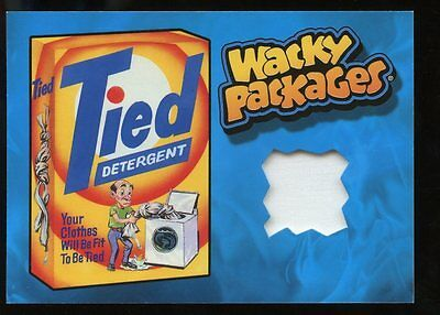 2015 Topps Wacky Packages Series 1 Wardrobe Relic Card - Tied Detergent