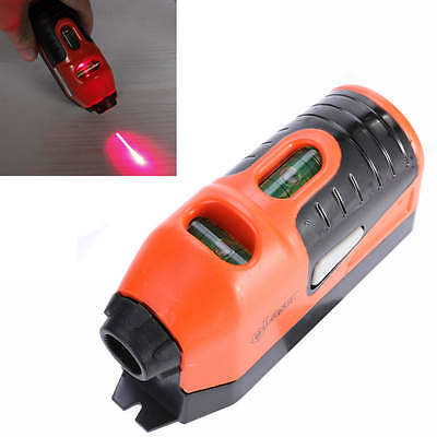 New 1pc Laser Spirit Level Guide Leveler Straight Project Line Tool Hang Picture