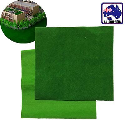 4pcs Green Grass Mat Lawn Model Layout Diorama Landscape Scenery Meadow HGRA387