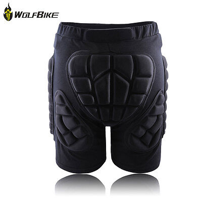 WOLFBIKE Sport Protective Padded Hip Protective Pad PantGear for Skiing Skate