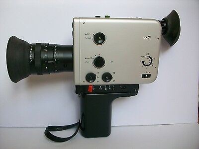 Braun Nizo 481 Super8 Camera, fully tested and working, 90 day warranty.