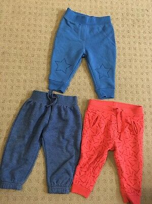 Baby Boy Or Girl Long Pants. Size 0. X3 Pairs