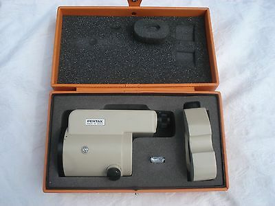 Pentax Sm1 Parallel Plate Micrometer For Precise Level Made Japan