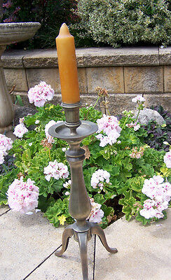 French Country~Metal Candle Stick~Large~Candle Holder~Candlestick