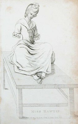 1813 Without arms curiosa Miss Hawtin Engraved portrait