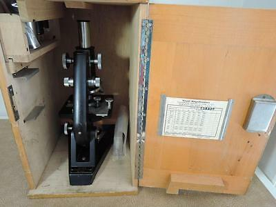 REICHERT Microscope Nr 29 373 w/ Eye pieces and Objectives