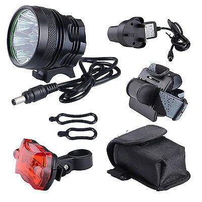 Super Bright 12000LM CREE T6 LED Mountain Bike Light Cycling Bicycle Head Light