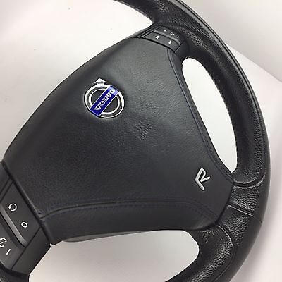 Genuine Volvo S60R, V70R, leather steering wheel and airbag. ***Truly superb!***