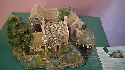 Lilliput Lane Cottage Bluebell Farm 1996 box and deeds