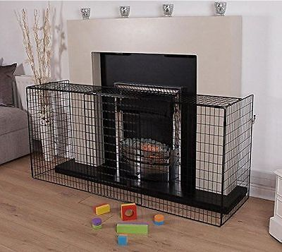 Firescreen Extendable Nursery Baby Fire Guard Safety Spark Stove Cover Protector