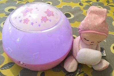 Chicco Goodnight Stars Projector-Pink. Good Used Condition.